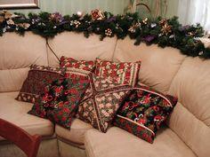 Милые сердцу штучки: рукоделие, декор и многое другое: Новогодний декор из ткани для пэчворка