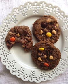 Quadruple Peanut Butter and Chocolate Cookies