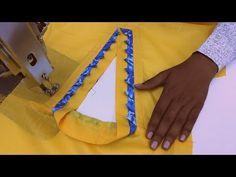 Nyc Collar Neck Design (Easy & Simple) Cutting And Stitching Chudidhar Neck Designs, Salwar Neck Designs, Kurta Neck Design, Saree Blouse Neck Designs, Dress Neck Designs, Sleeve Designs, Blouse Designs, Sewing Hacks, Sewing Tutorials