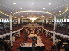 Enchantment Of The Seas- My Fair Lady dining room.