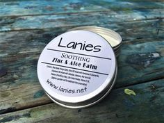 Soothing Zinc & Aloe Balm, great for everthing from nappy rash to insect bites. Insect Bites, Natural Products, Aloe, The Balm, How Are You Feeling, Aloe Vera