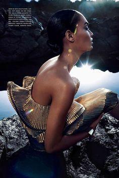 8 Joan Smalls by Sølve Sundsbø for Vogue Italia May 2014