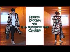 (10) How to Crochet the G G Gorgeous Gal Cardigan - YouTube