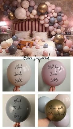 The secret to getting the elari effect in 2020 Balloons And More, Up Balloons, The Balloon, Balloon Ideas, Balloon Installation, Balloon Backdrop, Balloon Garland, Balloon Shades, Balloons Galore
