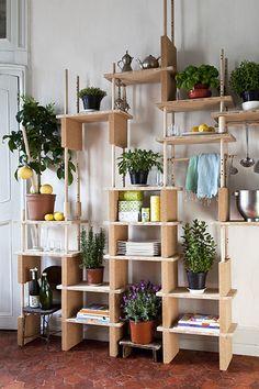 Over-The-Door Organizers - The Worst Organization Hack Trends - Lonny Bohemian Kitchen, Rustic Kitchen, Kitchen Decor, Kitchen Hacks, Kitchen Supplies, Over The Door Organizer, Modular Shelving, Open Shelving, Vertical Storage