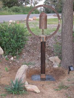 Recycled metal art sculpture. This piece is called Sun Rising by EubanksDesigns.