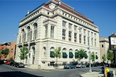 Troy Savings Bank Music Hall in Troy, New York, opened for musical performances in 1870