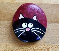 Rock Painting Patterns, Rock Painting Ideas Easy, Rock Painting Designs, Paint Designs, Rock Painting Kids, Painted Rock Animals, Painted Rocks Craft, Hand Painted Rocks, Painted Pebbles