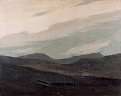 Cloud on the Mountains - Kyffin Williams