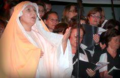 """""""Maria tua visita é luz para os corações e Deus te fará bendita por todas as gerações..."""" Mãedrinha Lenir ♥"""