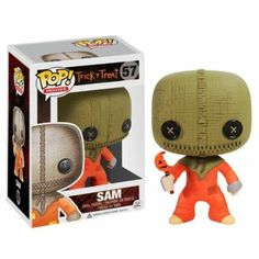 Amazon.com: FUNKO POP! HORROR MOVIES: TRICK OR TREAT - SAM: Toys & Games