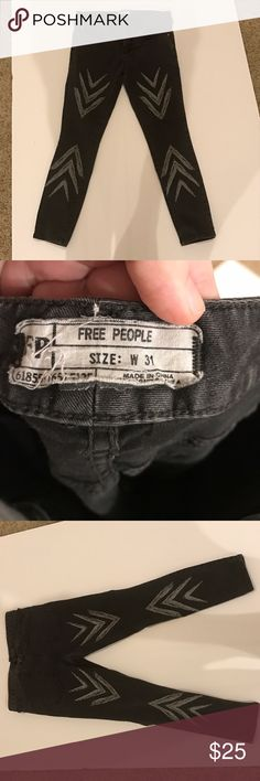 Free people jeans In excellent condition!! No flaws or damage unless noted! Comes from a smoke and pet free home🦄Bundle to take advantage of the discount and to make the most of shipping costs!! Bundle offers also accepted! 🦄 Free People Jeans