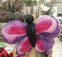 butterfly deco mesh