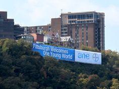 Ouverture de One Young World aujoud'hui à Pittsburgh à 17:00 EDT