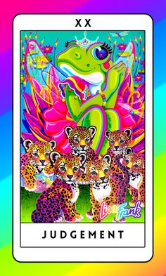 This Lisa Frank Tarot Deck Will Bring Out Your Inner Fifth-Grade Mystic | The Huffington Post