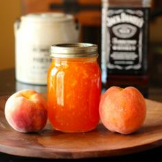 Ode to Jack Daniels, Peach Bourbon Jam with a hint of vanilla and cinnamon.