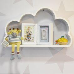 Repisa Babystation Nube silueta by Baby Station. Decoración para bebés. Decoración para niños pequeñños. Baby room. Decohunter. Encuentra dónde comprar este diseño y Producto en Colombia