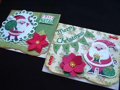 Márcia - cartões: Mais Natal