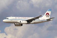 US Airways-America West Airlines heritage livery