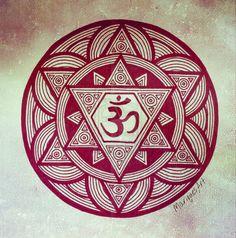 Om Mandala by mariquack on DeviantArt