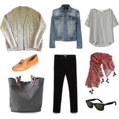 Keswick Cardigan - daily wardrobe. Love the cut of the jeans and the layers!