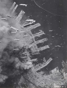 The Bombing of Kobe in World War II on March 16 and 17, 1945 was part of the strategic bombing campaign waged by the United States of America against military and civilian targets and population centers during the Japan home islands campaign in the closing stages of World War II. During later months of the war, the city was bombed for a second time.