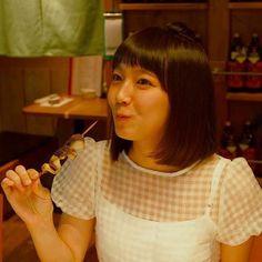 喰らう吉岡里帆ちゃんがやはり可愛い( ;´Д`) #吉岡里帆 #rihoyoshioka #女優 #actress