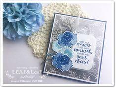 お花とフレームがお気に入り!この色の組み合わせもお気に入り!立てて飾れるイーゼルカード | LEAF&LeaFの「手作りカード」な暮らし。 papercraft,stamp,cardmaking,Stampin' Up!,first frost,easel card ペーパークラフト,手作りカード,スタンプ,手作りカードな暮らし,スタンピンアップ,スタンピンアップ公認デモンストレーター #手作りカード #カードメイキング #StampinUp #スタンピンアップ #ペーパークラフト #簡単 #papercraft #cardmaking #firstfrost