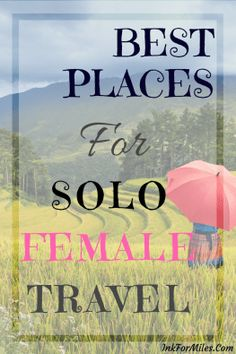 Space Guide Nine of the Best Places for Solo Female Travelers - Nine of the Best Places for Solo Female Travelers. For women who are hoping to leave harassment and discrimination off of the travel itinerary. Best Solo Travel Destinations, Safest Places To Travel, Solo Travel Tips, Travel Packing, Travel Advice, Travel Ideas, Travel Box, Travel Expert, Travel Stuff