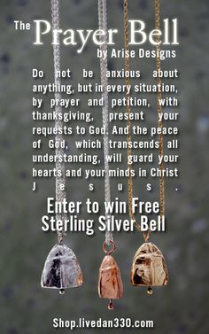 Prayer Bell Giveaway - I want one of these :)