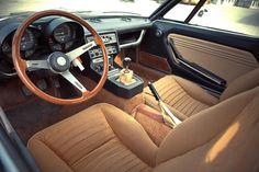 Alfa Romeo Montreal 1977 interior