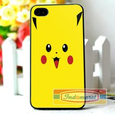 Pikachu Designs yellow iPhone 4/4s iPhone 5/5s/5c by Indomaret, $10.00