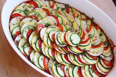 Need to find a good ratatouille recipe after having it in France; it is amazing!! The Comfort of Cooking » Layered Ratatouille
