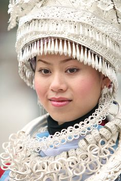 China | Maio girl at Taijiang, Guizhou | © Andy Leung one of the many minorities in China--totalling about 87