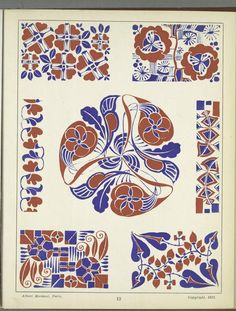[Decorative designs.] ([1922])