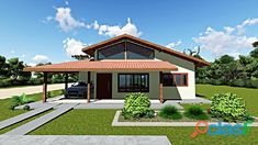 Modern House Floor Plans, New House Plans, Kerala Traditional House, Mediterranean Homes Exterior, One Storey House, House Architecture Styles, Bali House, House Construction Plan, Villa