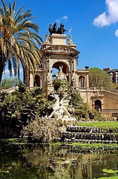 Font Monumental, Parc de la Ciutadella. Barcelona, Catalonia