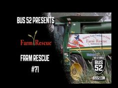 Farmers have a lot of pride in the work they do, asking for help is very difficult. Farm Rescue steps into lend a hand