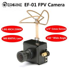 27.81$  Know more - http://aiui0.worlditems.win/all/product.php?id=32730059495 - Free shipping! Eachine 5.8G Transmitter 40CH 25MW VTX 800TVL 1/3 Cmos FPV Camera With Antenna