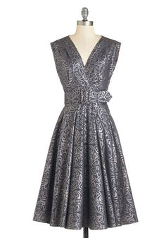 Endear Everyone Dress in Dusk | Mod Retro Vintage Dresses | ModCloth.com