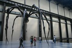 Louise Bourgeois - 'Maman' in the Turbine Hall