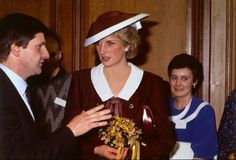 1985 12 05 Diana opens a Bone Marrow Transplant Unit at the Royal Infirmary in Glasgow