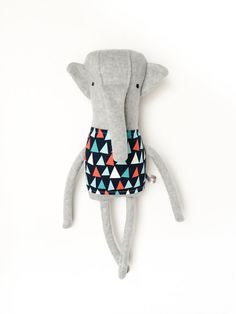 Elephant Friend- Finkelstein's Center Handmade Creature