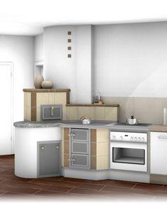 Herde - Tischherde - Sigmund Kachelofen und Fliesen Kitchen Island, Kitchen Cabinets, House, Ideas, Home Decor, Tiling, Tile, Building Homes, Rustic