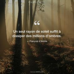 """Francis of Assisi """"Just one ray of sunshine is enough to dispel millions of shadows."""" Photo by Valeriy Andrushko / Unsplash St Francis Quotes, Francis Of Assisi Quotes, Saint Quotes, Hug Quotes, Wisdom Quotes, Words Quotes, Love Quotes, Black Quotes, Quotes Lockscreen"""