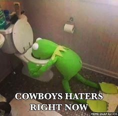 Cowboys haters right now