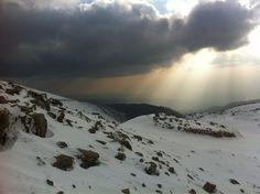 Top of Mount Hermon Taken by p4stelpink