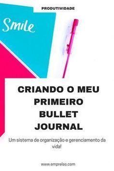 Eu tava querendo muito fazer o meu primeiro Bullet Journal. Foi nada fácil meu povo, arranquei duas páginas porque comecei com canetas que deixaram o meu diário feinho pra caramba. Mas sigo firme no propósito! #bulletjournaling #bulletjournal #diarioemtópicos #organização #produtividade #emprelas #organize