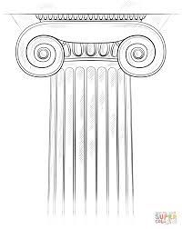 How to draw the Ionic Column step by step. Drawing tutorials for kids and beginn… – Art Drawing Tips Architecture Antique, Greece Architecture, Architecture Art, Architecture Sketchbook, Classical Architecture, Ionic Order, Perspective Drawing Lessons, Drawing Tutorials For Kids, Drawing Tips
