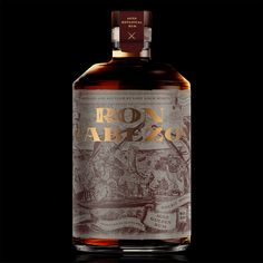 Packaging Label Design for Ron Cabezon Rum - World Brand Design